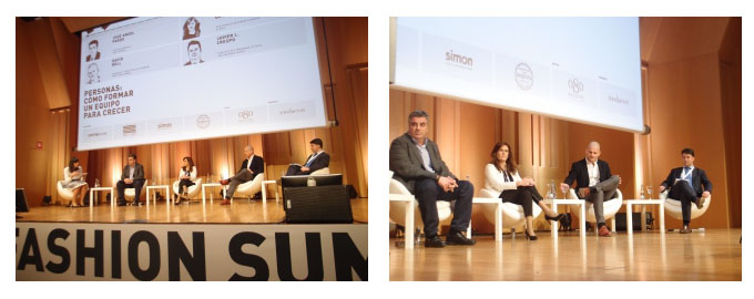 Conference at Barcelona Fashion Summit
