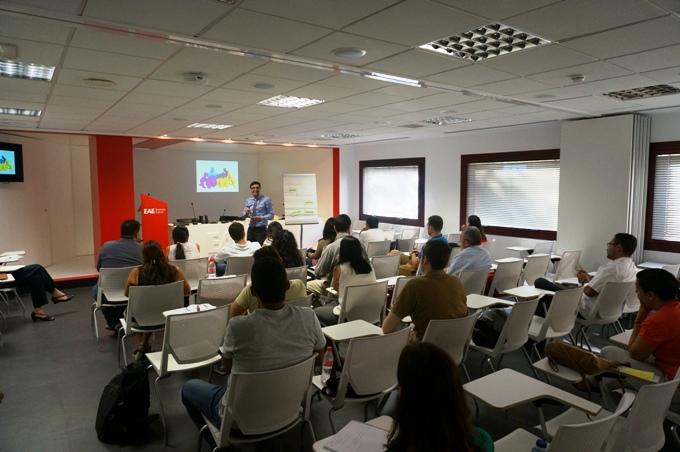 Conferencia de Baldi Figueras en EAE Business School