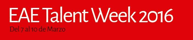 EAE Talent Week 2016