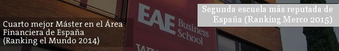 Master en Dirección y Gestión Financiera de EAE Business School