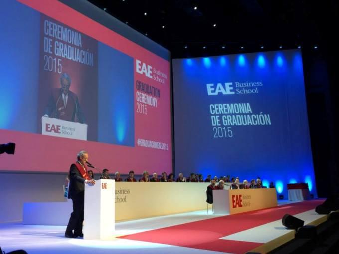 EAE Barcelona Graduation Ceremony 2015
