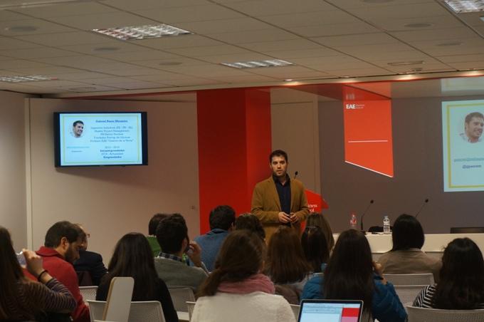Gabriel Pazos en la conferencia de management
