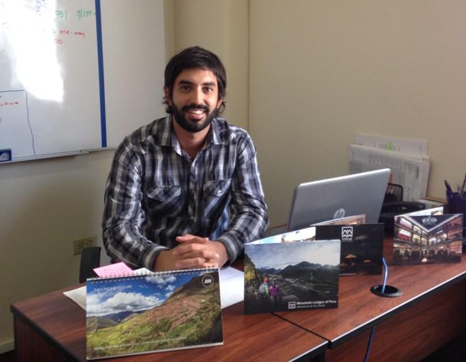 Germán Sarmiento, exalumno de EAE y jefe de marketing en Mountain Lodges of Peru