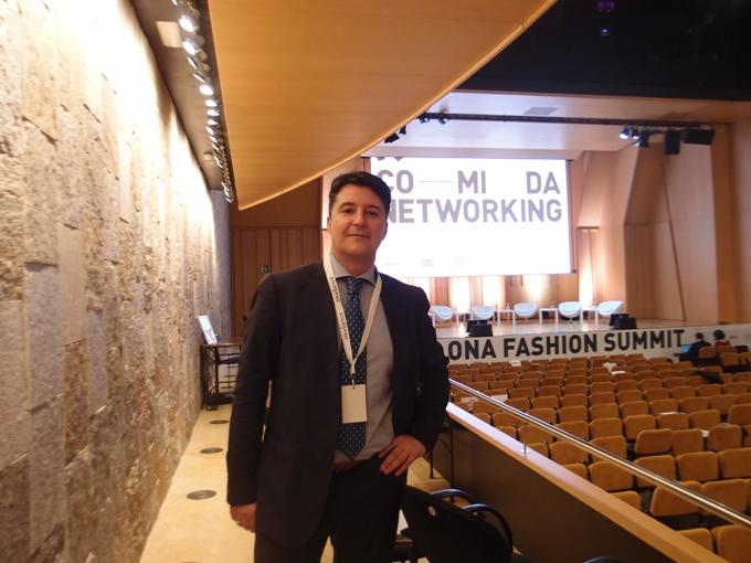 Javier Crespo en Barcelona Fashion Summit