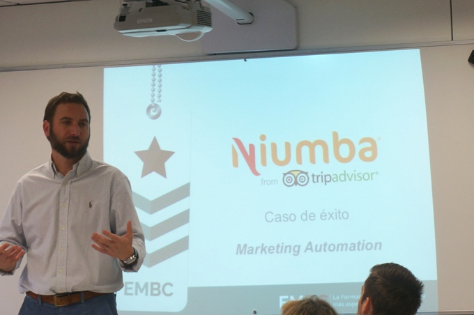 Juan Cruz Aliaga charla sobre el caso Niumba y el marketing automation