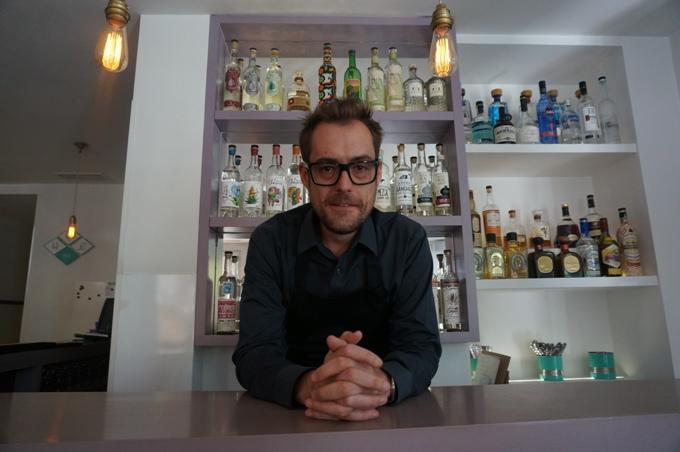 Martin en su restaurante Punto.mx