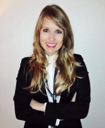 Mónica Laloux, antigua alumna de EAE