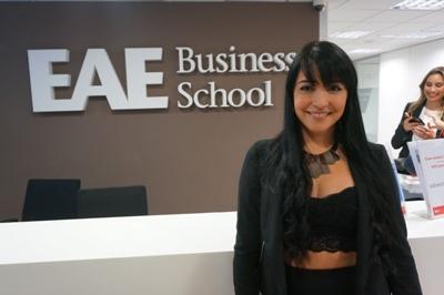 Natasha López, Alumni de EAE