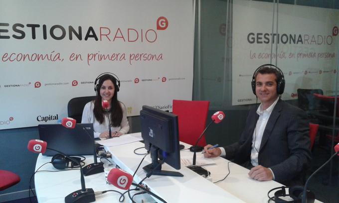 Óscar Gámez en Gestiona Radio