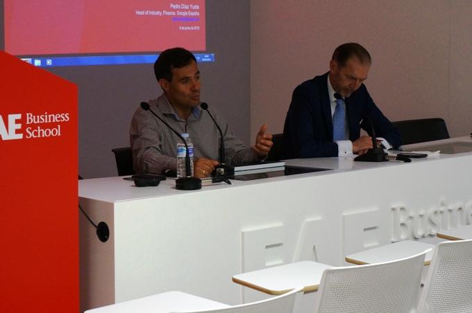 Pedro Díaz Yuste, Jefe de Ventas para Instituciones Financieras de Google Spain