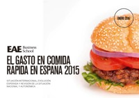 "Descárgate el estudio ""Expenditure on fast food 2015"""
