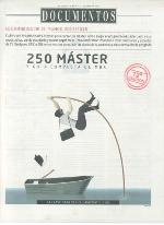 Front cover of El Mundo's Ranking of the 250 Best Masters in Spain, 2015