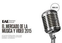 """Descárgate el estudio """"El mercado de la música y vídeo 2015"""""""