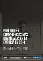 Descárgate el Estudio SRC de EAE EPyCE 2014- Informe sobre Posiciones y Competencias más Demandas (2014)