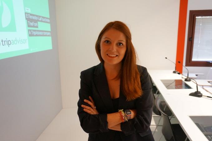 Raquel del Campo del departamento de RRHH de El Tenedor