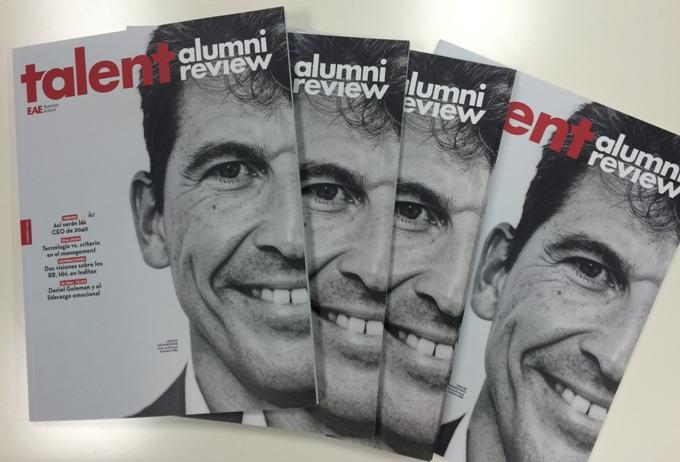 Nueva revista Talent Alumni Review, para la Comunidad Alumni