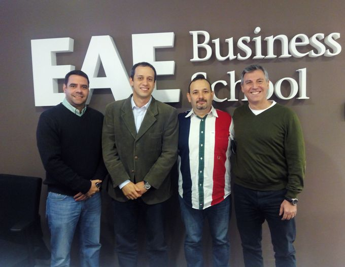 Three former EAE students get the SCPro certification