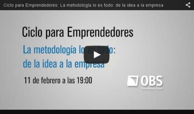 Accede a la segunda sesión online de Emprendedores EAE