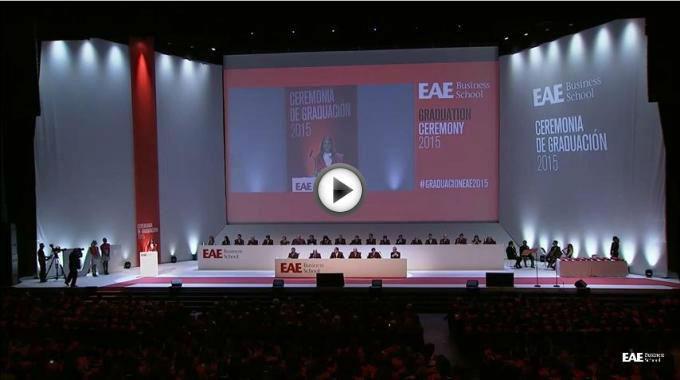 Vídeo íntegro de la Ceremonia de Graduación Barcelona 2015