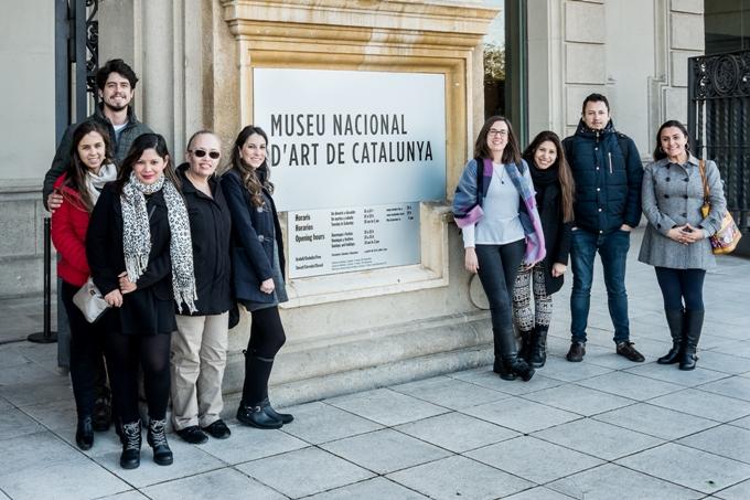 Visita al Museo Nacional de Arte de Cataluña