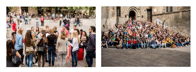 Visita cultural por Barcelona en la Welcome Week 2015