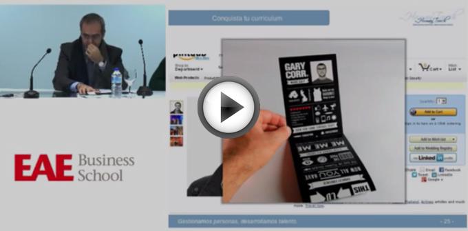 Video Webinar EAE Conquista con tu Currículo
