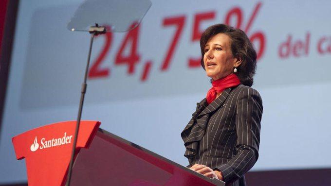 Lectura SRC Santander ampliará capital