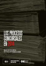 Descárgate el Estudio SRC de EAE Los procesos concursales 2014