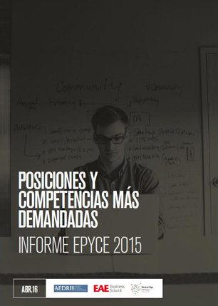 Descárgate el Estudio SRC de EAE EPyCE 2015- Estudio de Perfiles Profesionales y Competencias más Demandas en la Empresa