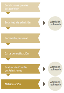 Requisitos de admisión Executive MBA de OBS Business School