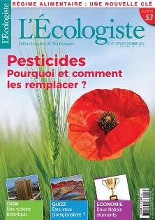 L'Ecologiste, en kiosque et par correspondance - Trimestriel, en Angleterre depuis 1970, en France depuis 2000 Couv53courriel_petit