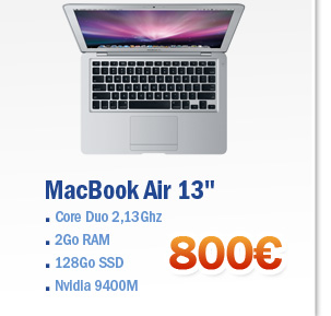 MacBook-Air-Occasion-Core-2-Duo-2.13-GHz-RAM-2-Go