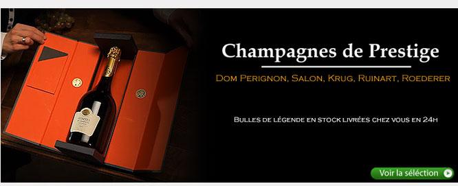 Champagne : cuvées de prestige