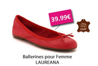 ballerines Laureana 39,99?