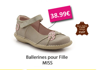ballerines Miss 38,99?