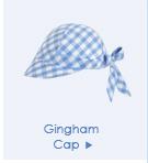 Gingham Cap