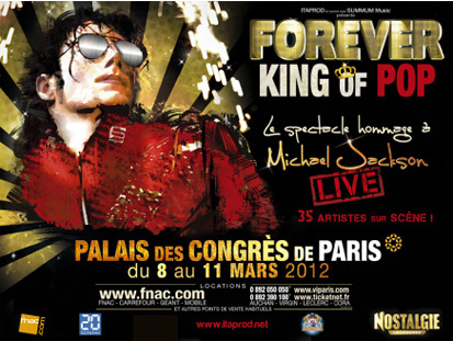 Grand casting pour danser avec la troupe de Forever King Of Pop