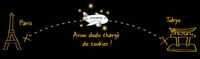 Voyage de Paris à Tokyo chargé de cookies !