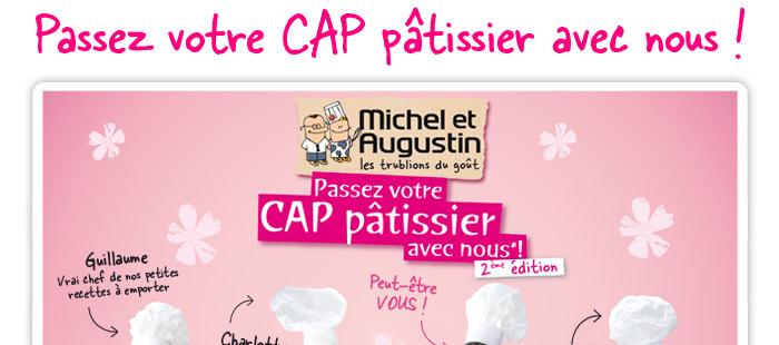 Passez votre CAP pâtissier avec nous !