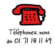 Téléphonez-nous au 01 71 18 11 69